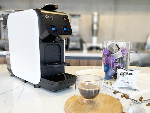 CAFE ESPRESSO VỚI CAFE CAPSULE CI.ELLE