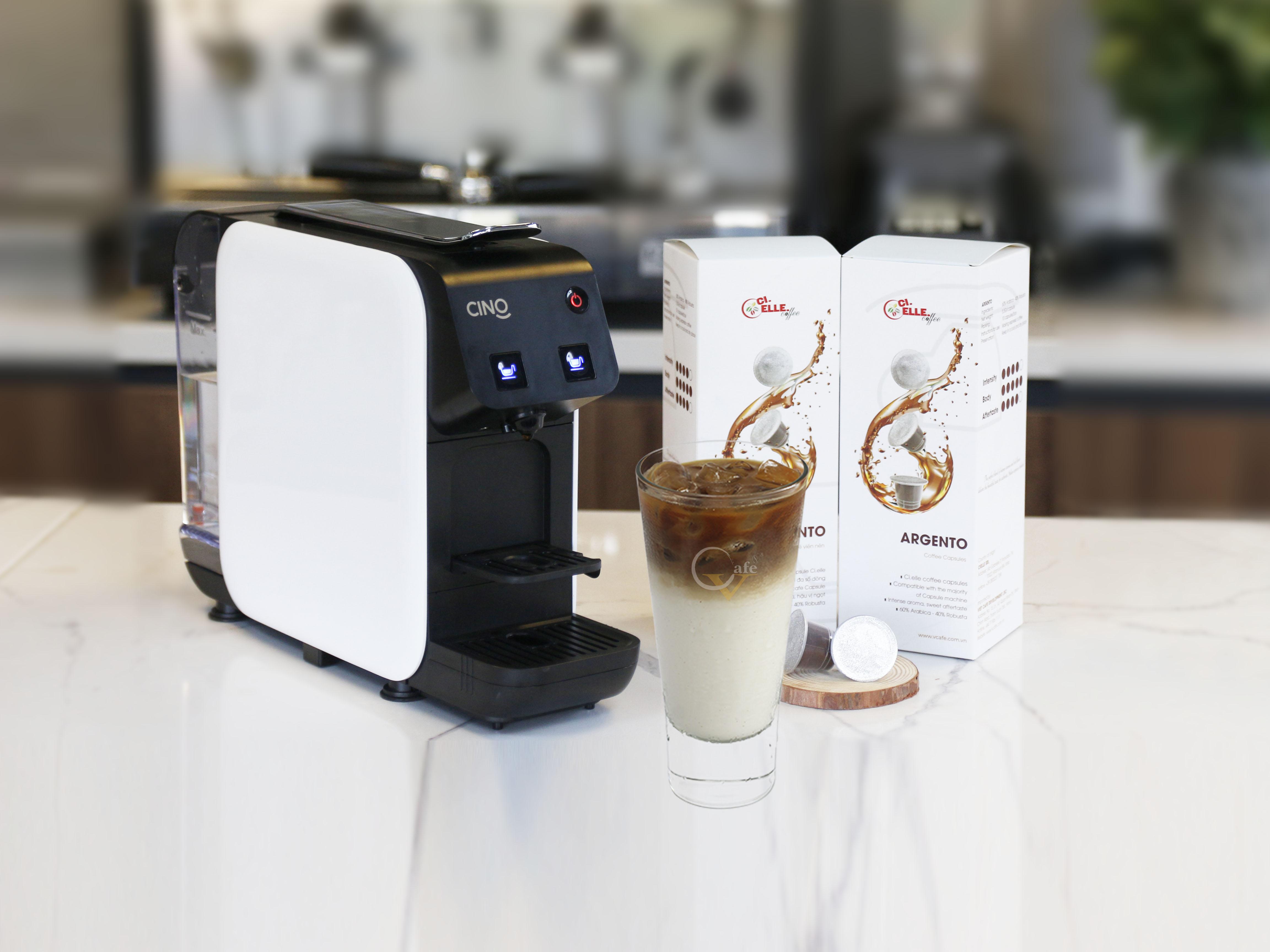 CAFE LATTE ĐÁ VỚI CAFE CAPSULE TẠI NHÀ