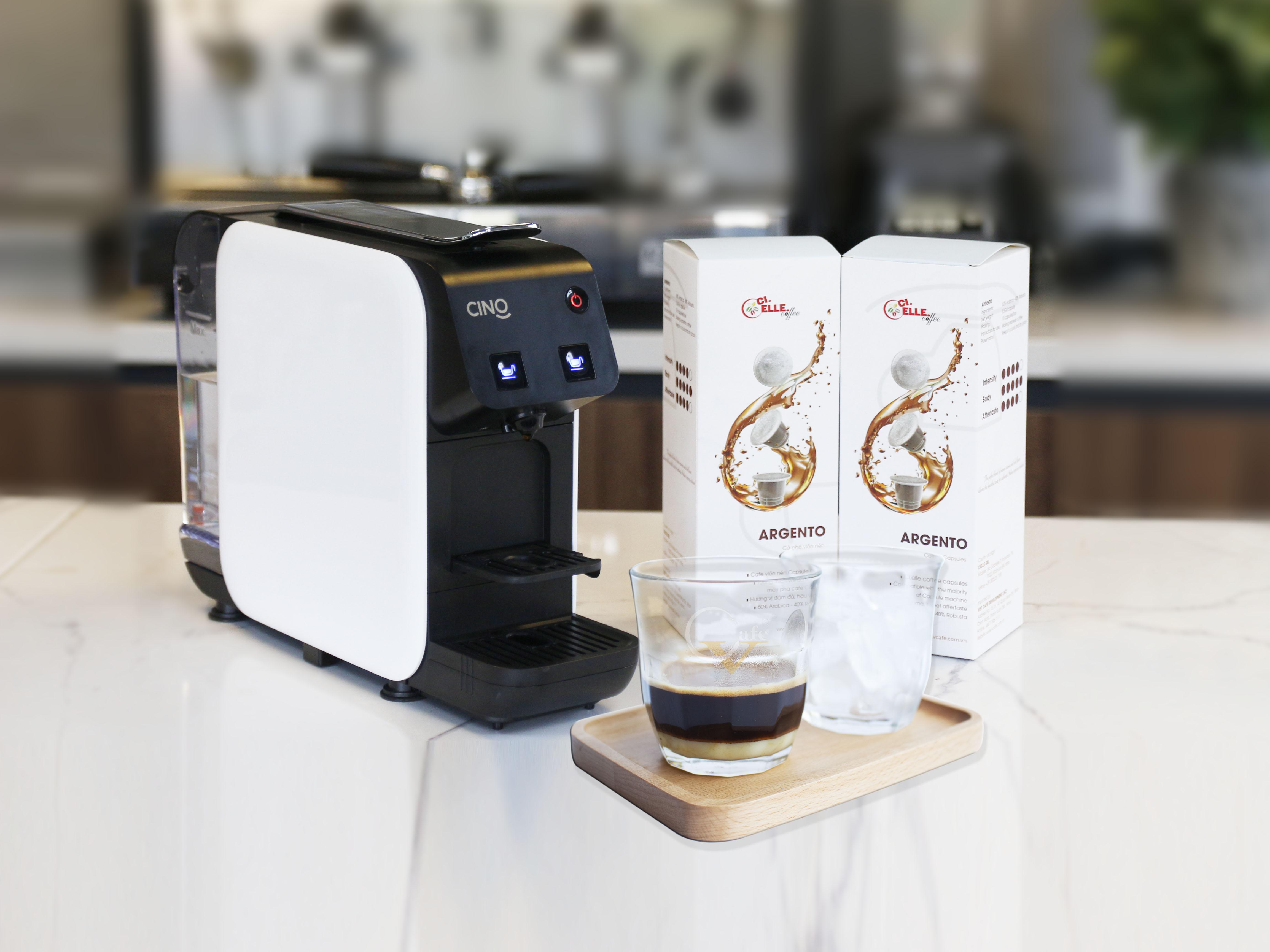 CAFE SỮA ĐÁ TỪ CAFE VIÊN NÉN