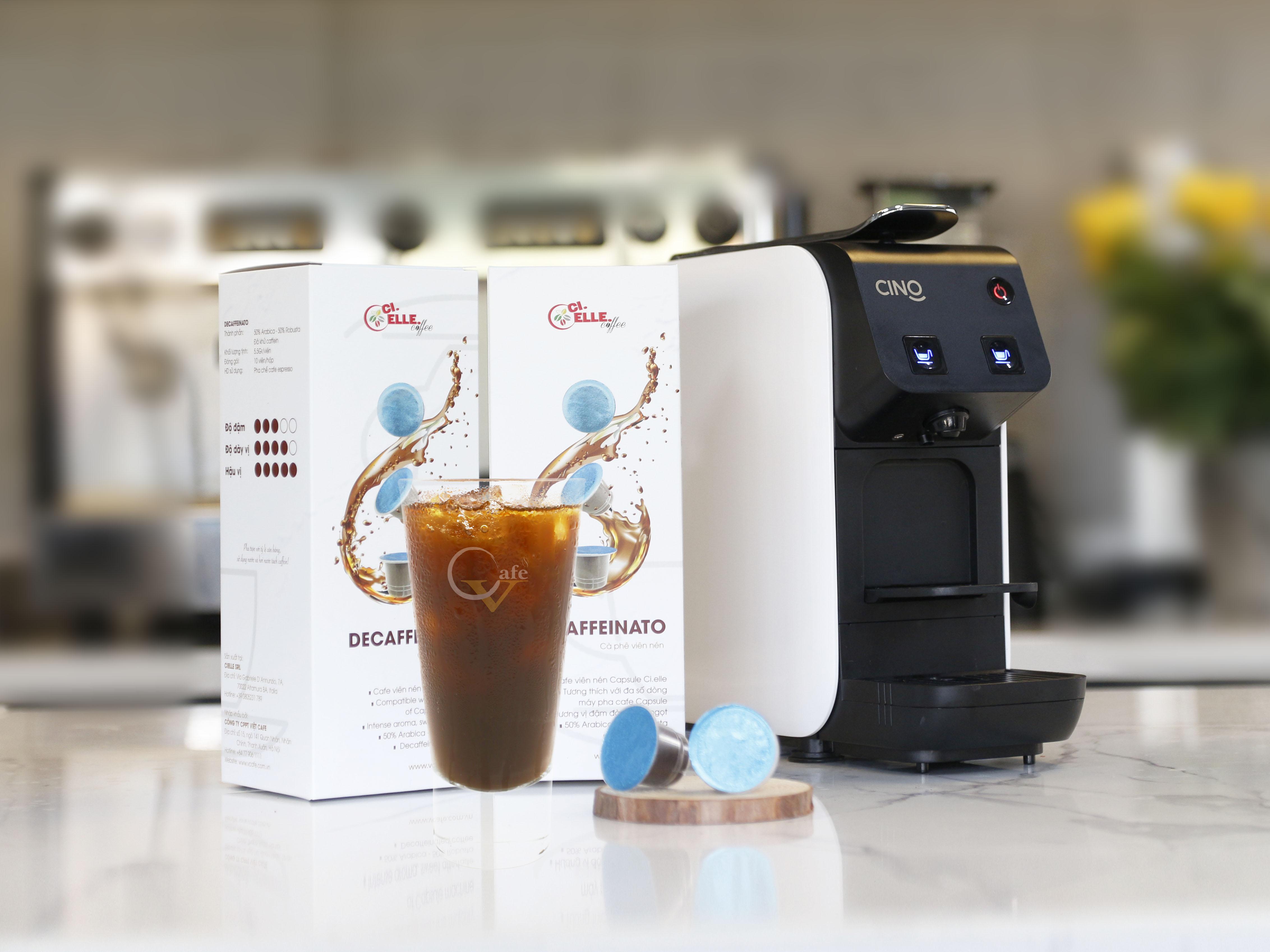 AMERICANO CHUẨN Ý VỚI CAFE CAPSULE