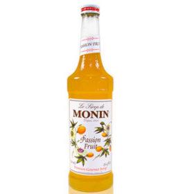 MONIN Sirô Chanh leo (lạc tiên) – chai 70CL