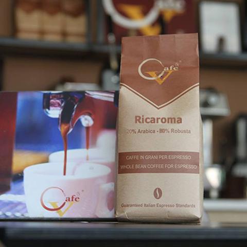 Cafe hạt rang Ricaroma