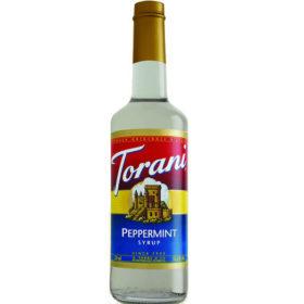 Torani Sirô Bạc hà trắng Peppermint – chai 750ml