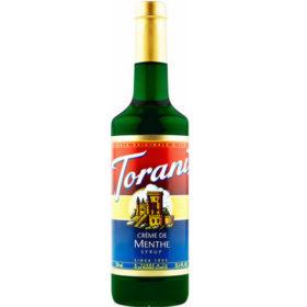 Torani Sirô Bạc hà xanh Menthe – chai 750ml