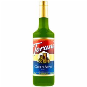 Torani Sirô Táo xanh Green Appple – chai 750ml