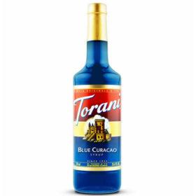 Torani Sirô Blue Curacao – chai 750ml