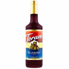 Torani Sirô Việt quất Blueberry – chai 750ml