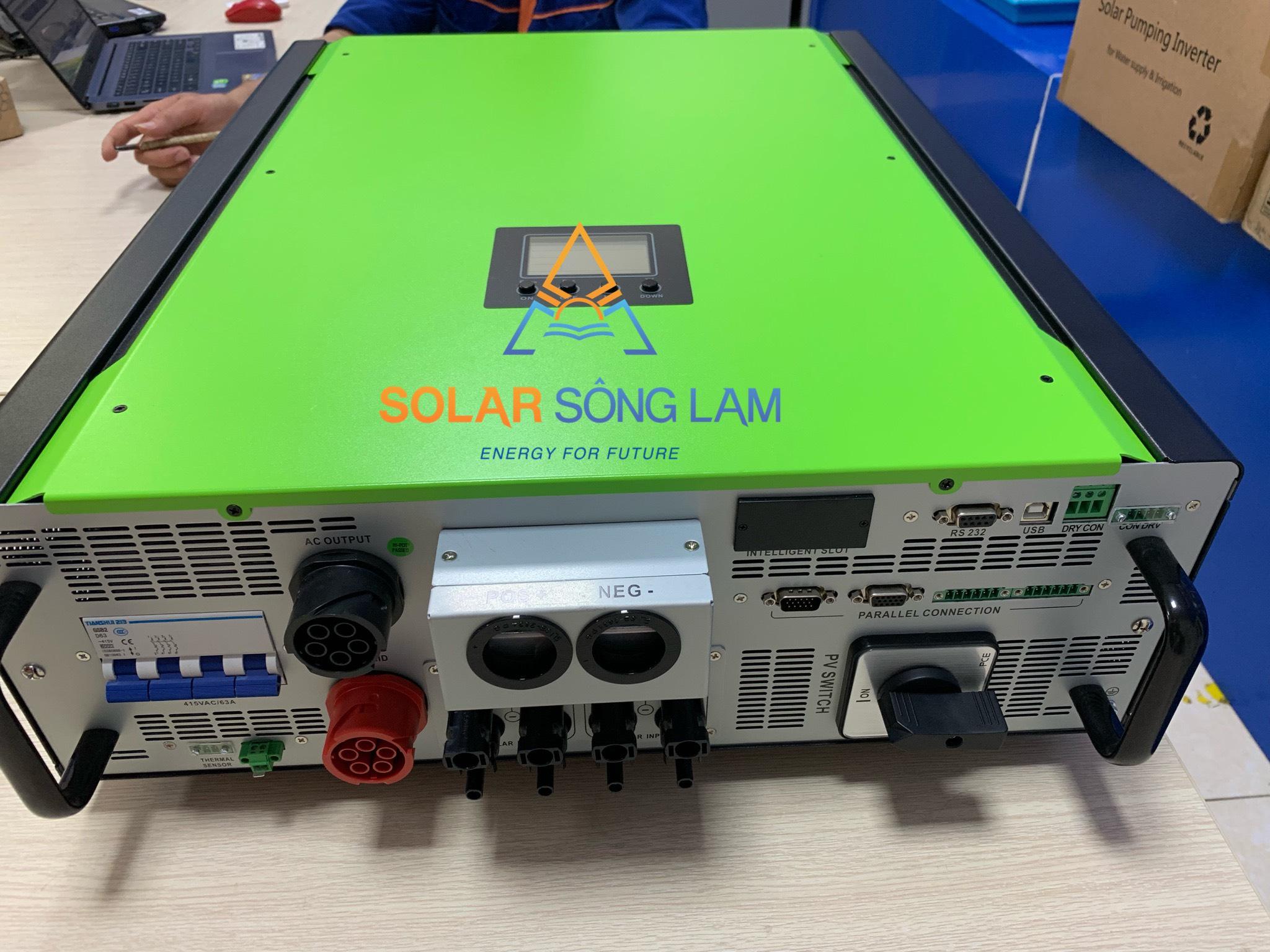 Biến tần hoà lưới Hybrid INFINISOLAR 10KW- 3PHA