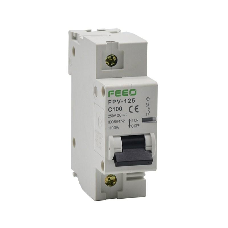 Áp to mát chuyên dụng cho solar DC 1P 125A-550VDC FEEO