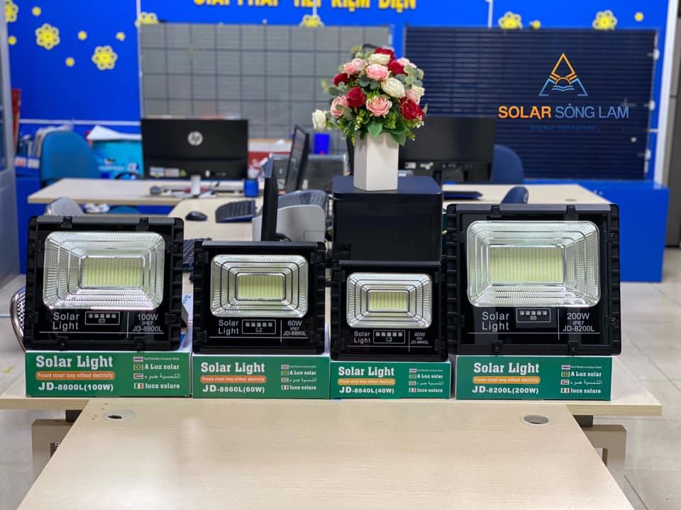 Đèn pha NLMT JINDIAN công suất 40W - JD8840L - Hàng chính hãng