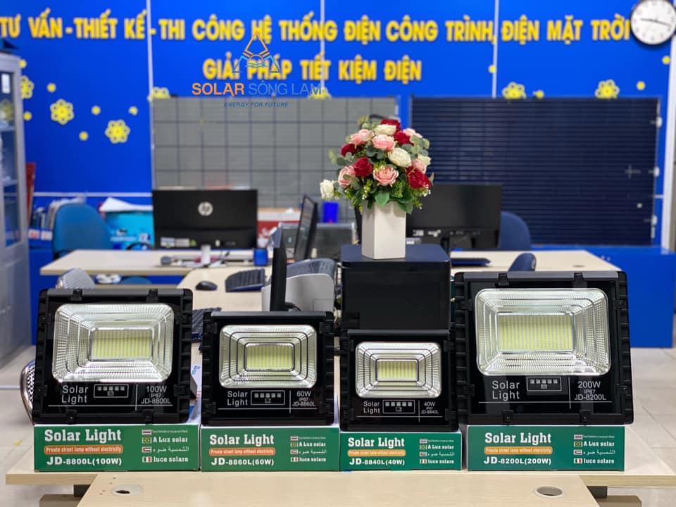 Đèn pha NLMT JINDIAN công suất 200W - JD8200L - Hàng chính hãng