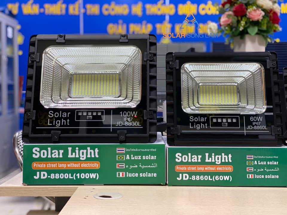 Đèn pha NLMT JINDIAN công suất 100W - JD8800L - Hàng chính hãng