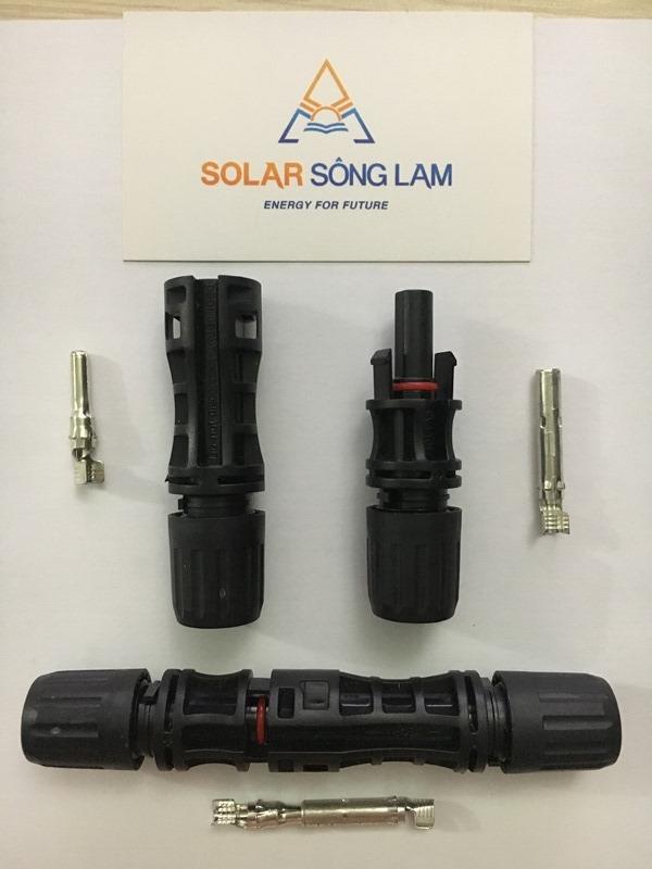 Giắc cắm MC4 cho tấm pin năng lượng mặt trời 30A-1500vol DC
