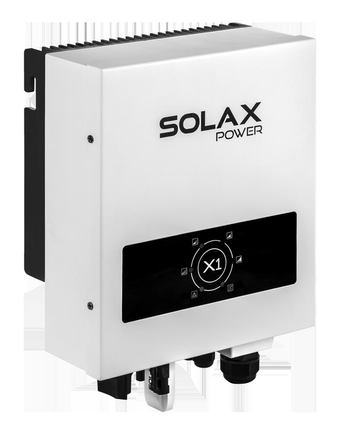 Inverter hoà lưới năng lượng mặt trời 1P- SOLAX - X1 Mini-1.1+ DC SWITCH, WIFI