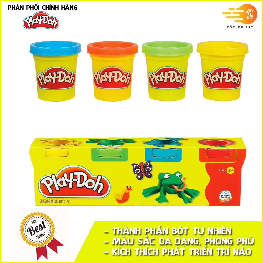 Bộ bột nặn tạo hình 4 màu mini Play-Doh 23241