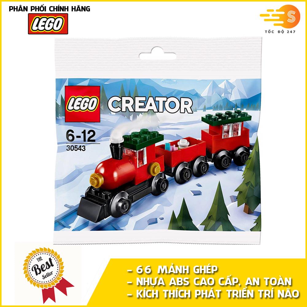 Bộ đồ chơi lắp ráp sáng tạo tàu lửa lễ hội Lego Creator 30543