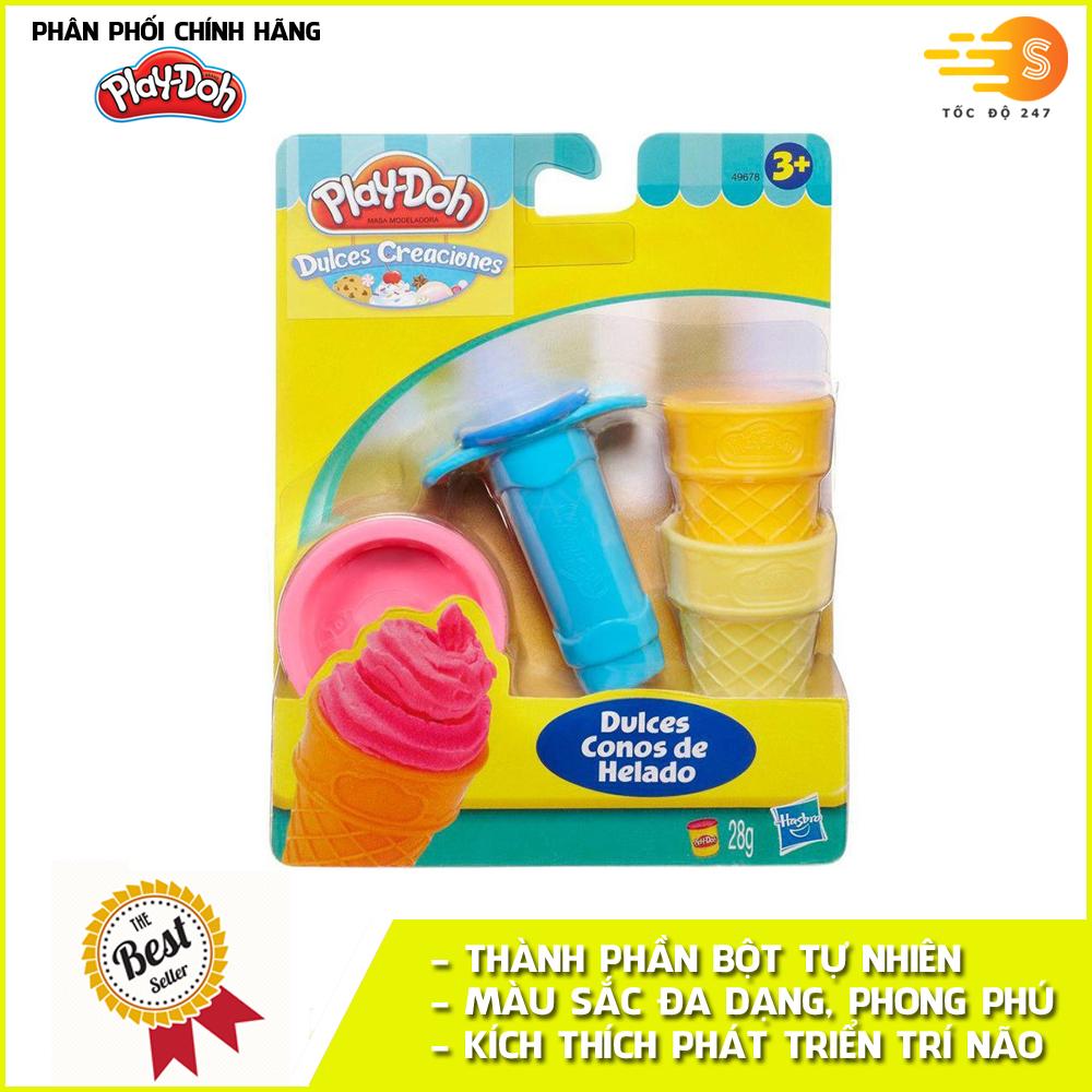 Bộ bột nặn tạo hình làm kem mini Play-Doh 49654