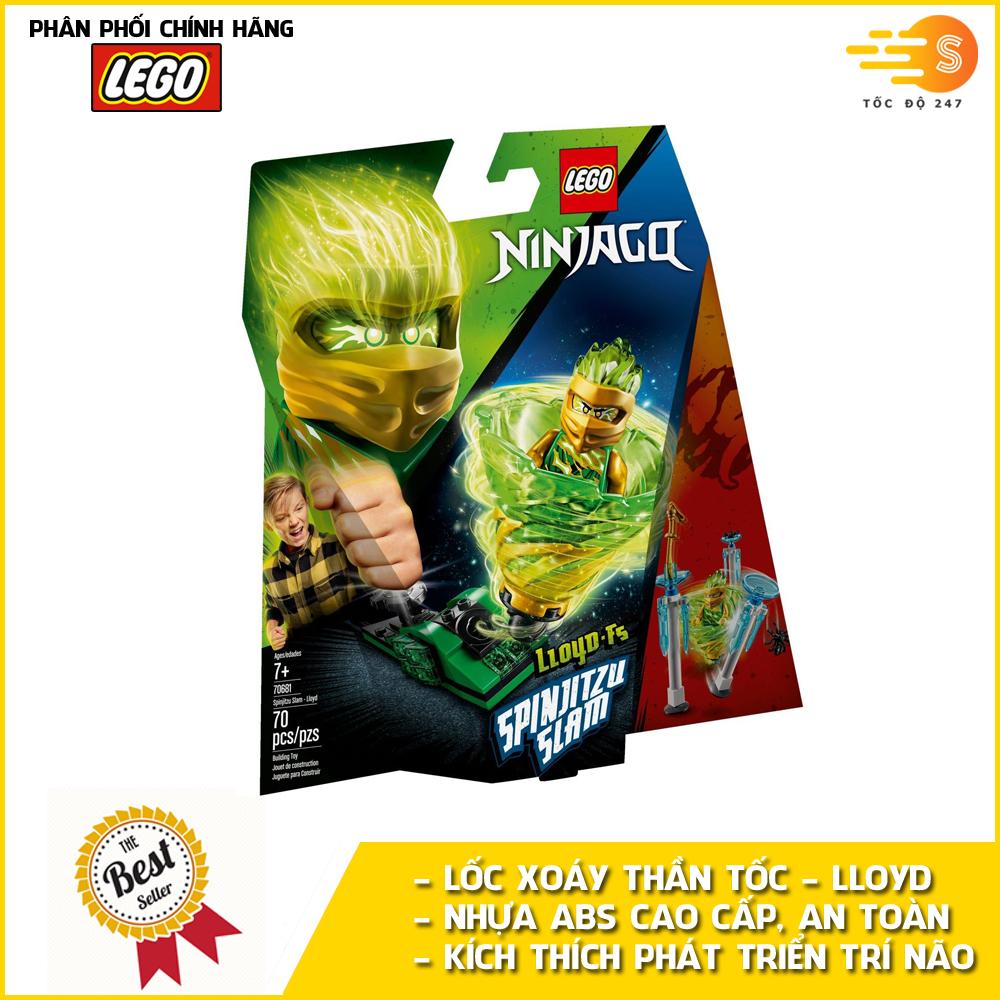 Bộ đồ chơi lắp ráp lốc xoáy thần tốc Lloyd Lego NinjaGo 70681
