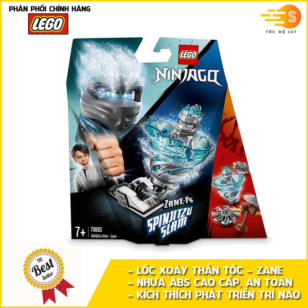 Bộ đồ chơi lắp ráp lốc xoáy thần tốc Zane Lego NinjaGo 70683