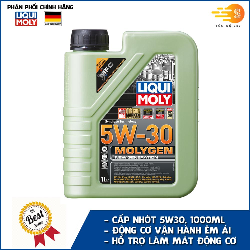 dau-nhot-tong-hop-xe-ga-molygen-liqui-moly-1l-5w30