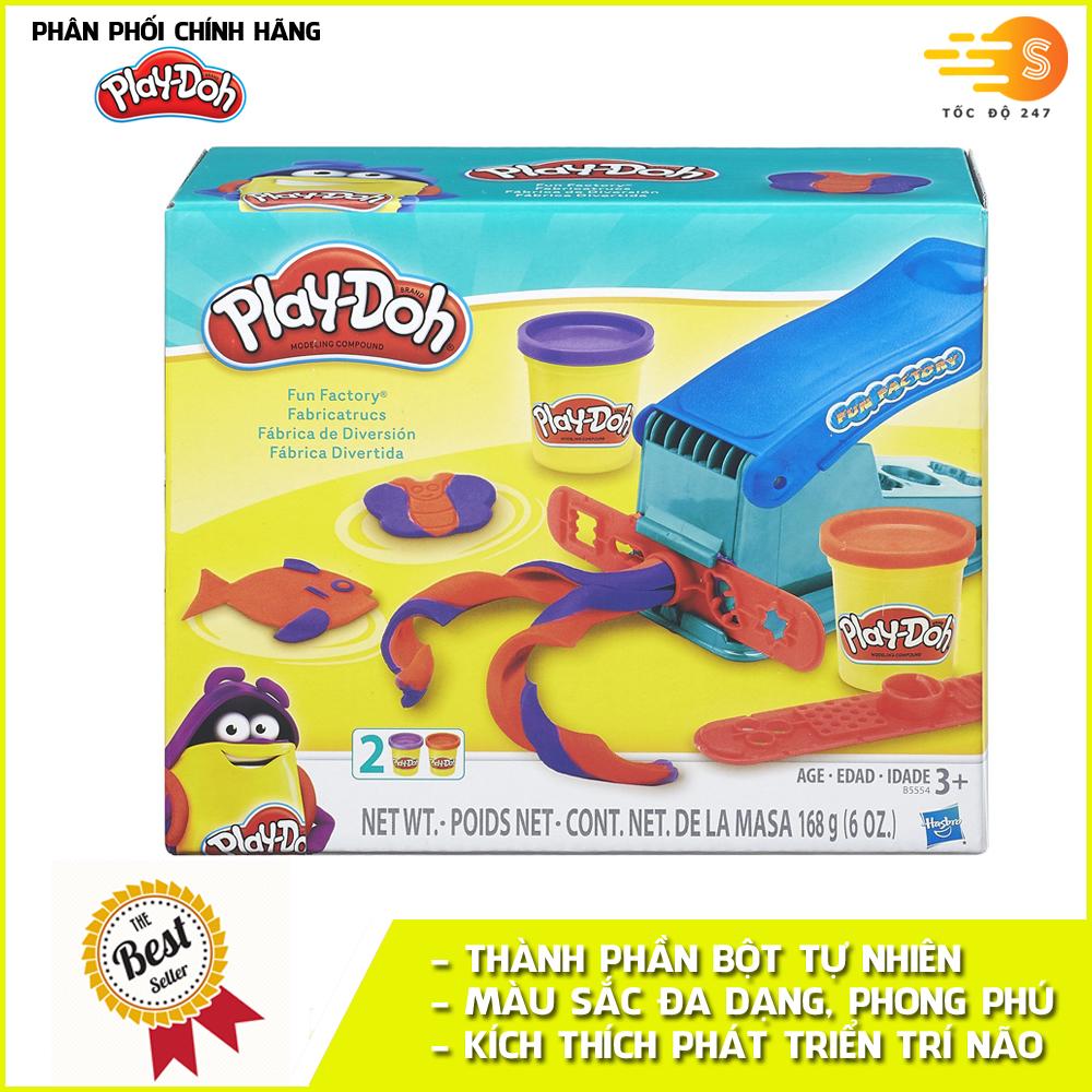 Bộ bột nặn tạo hình nhà máy vui vẻ Play-Doh B5554