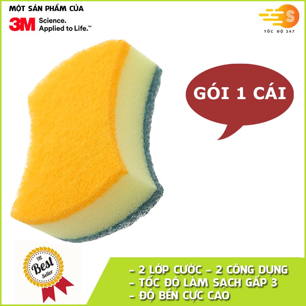 mieng-rua-chen-3x-2-mat-khong-tray-xuoc-scotch-brite-3m-cr-2m