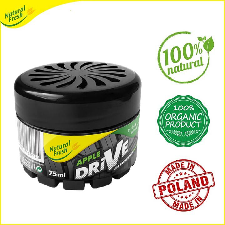 Hủ khuếch tán tinh dầu dạng gel Drive Natural Fresh DR075