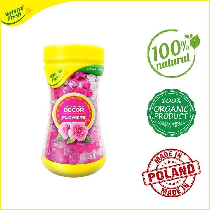 Hạt khử mùi và tỏa hương thơm dạng gel Jelly Natural Fresh DE350