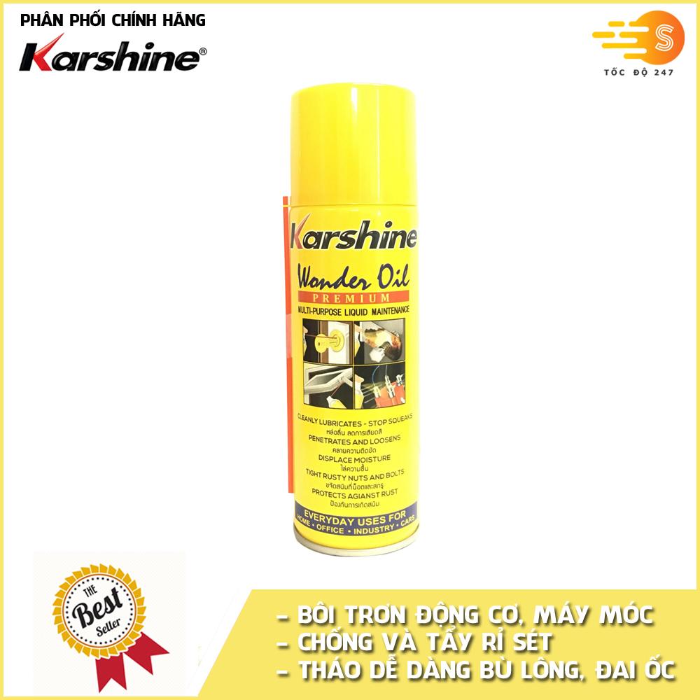 Chai xịt tẩy rửa, bôi trơn và chống rỉ sét Karshine KA-WO200 200ml