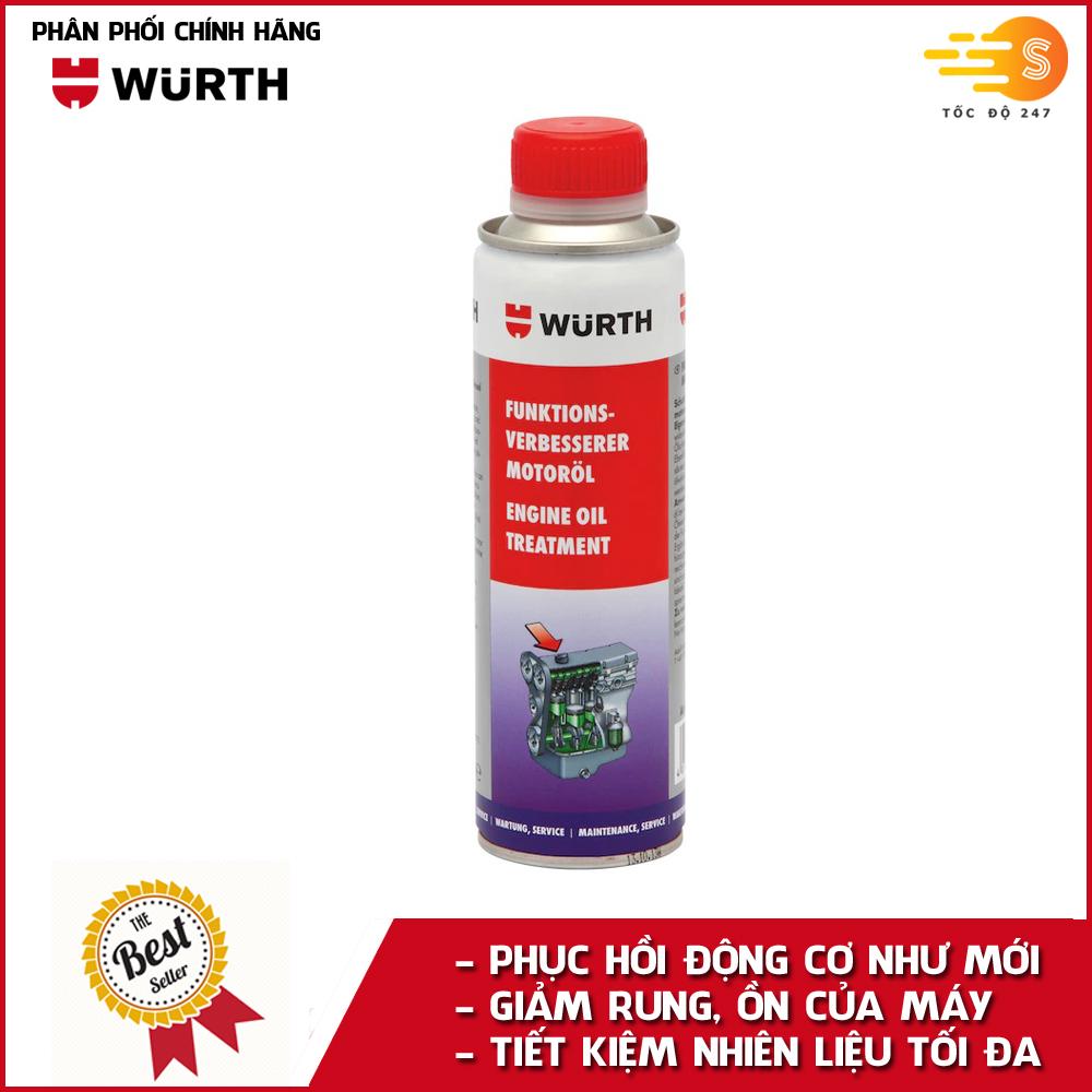 Phụ gia nhớt bảo dưỡng động cơ cao cấp Wurth WU-PGN300