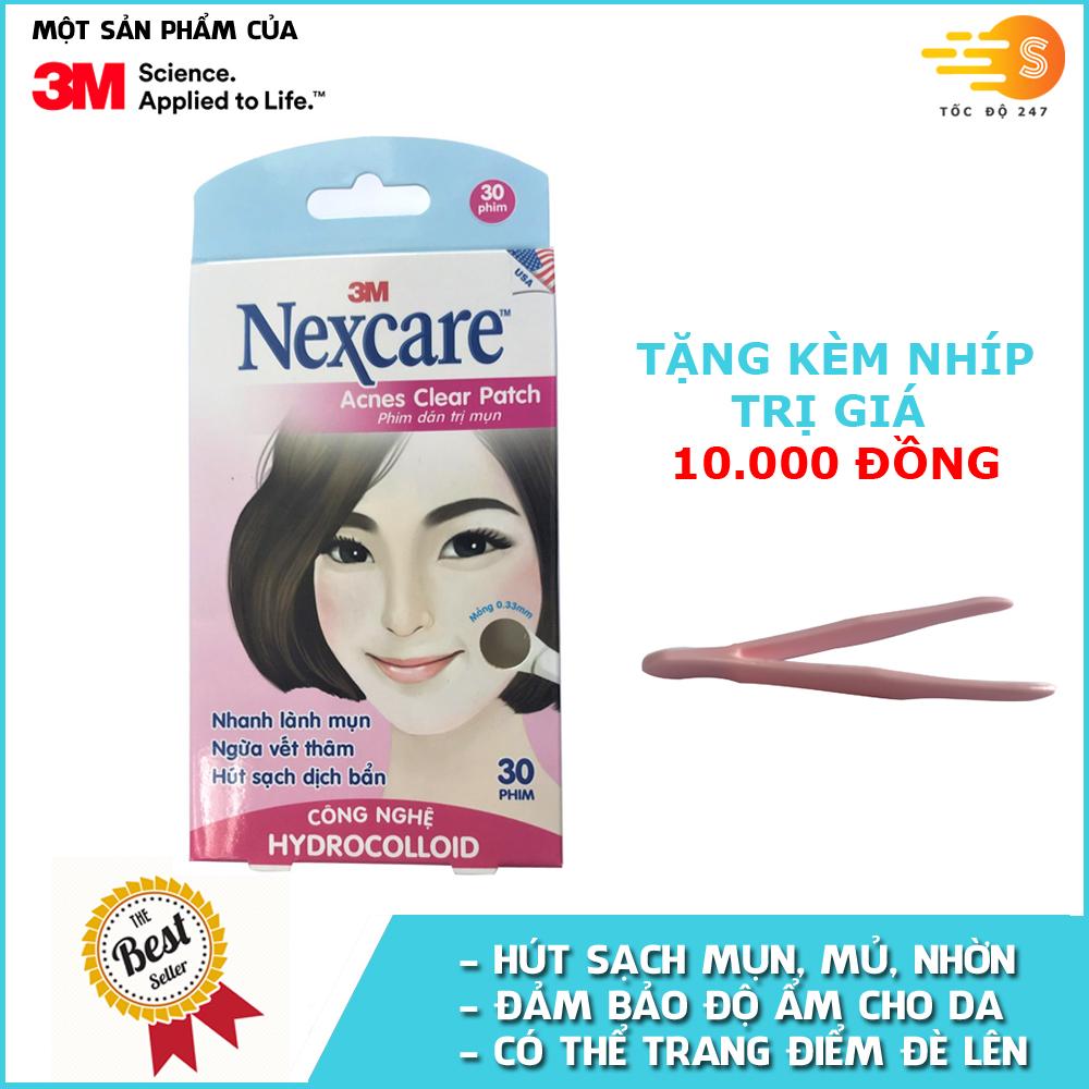 hop-30-mieng-phim-dan-tri-mun-ngan-seo-tham-nexcare-3m-tm-30m