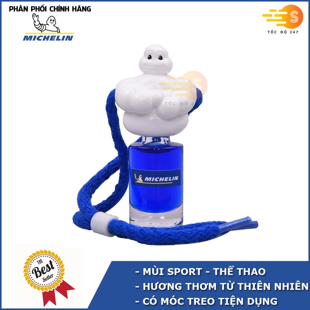 Nước hoa ô tô Michelin dạng treo W878T - Nhiều mùi hương