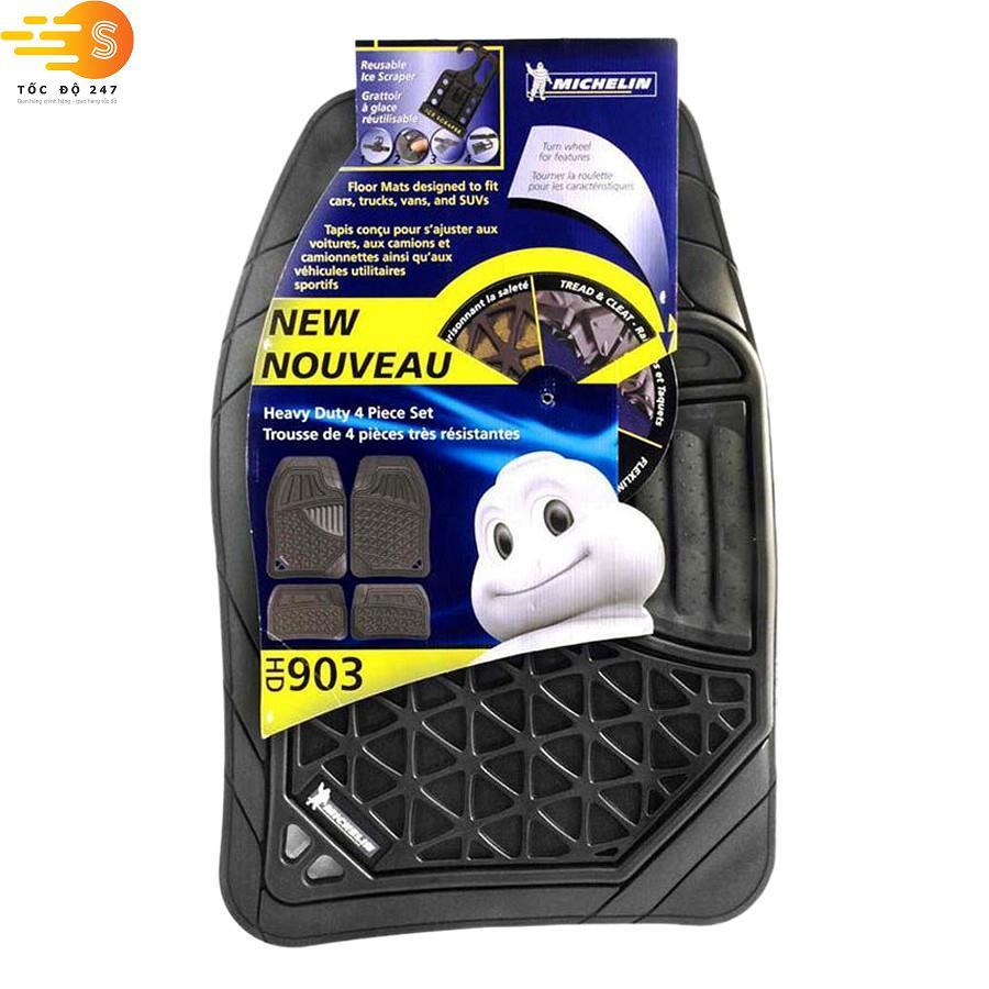 Bộ thảm lót sàn ô tô 7 chỗ Michelin 903-489