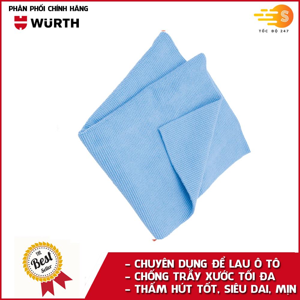 khan-lau-o-to-chuyen-dung-chong-tray-xuoc-microfiber-wurth-40x40cm-nhieu-mau