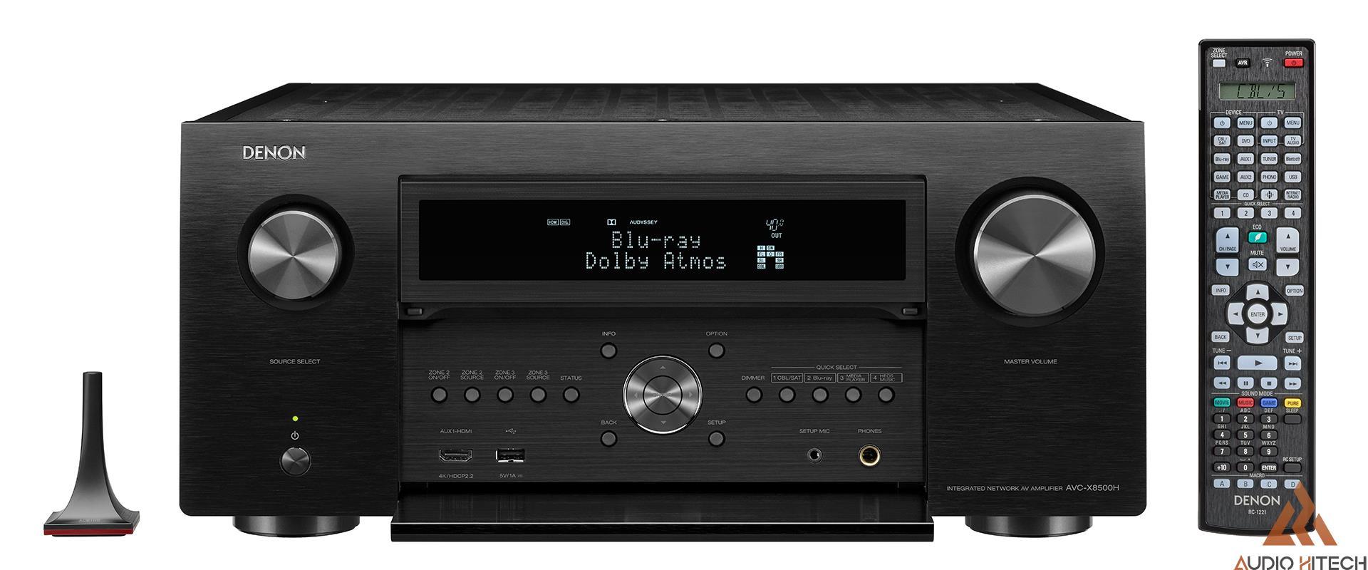 Amply Denon AVR X8500H