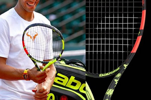 New Look For Rafael Nadal's Racquet: The Babolat Pure Aero Decima