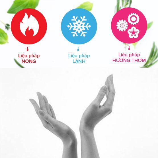 Các liệu pháp nhiệt, lạnh, hương thơm của túi chườm cổ tay ATZ Life