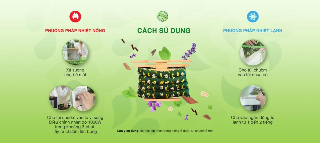 Cách sử dụng túi chườm bụng ATZ Organic