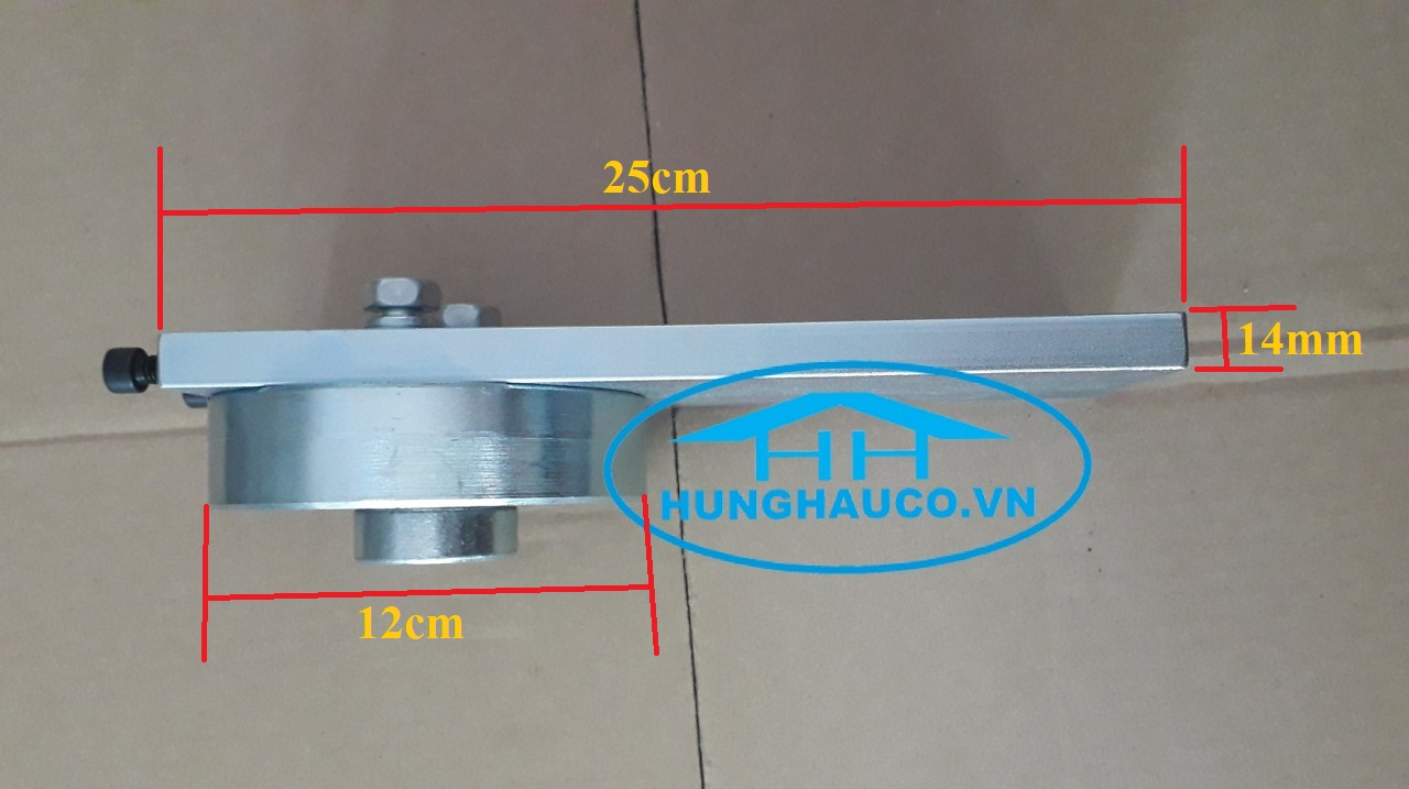 Bản lề cối xoay trên D120mm BLC-120T