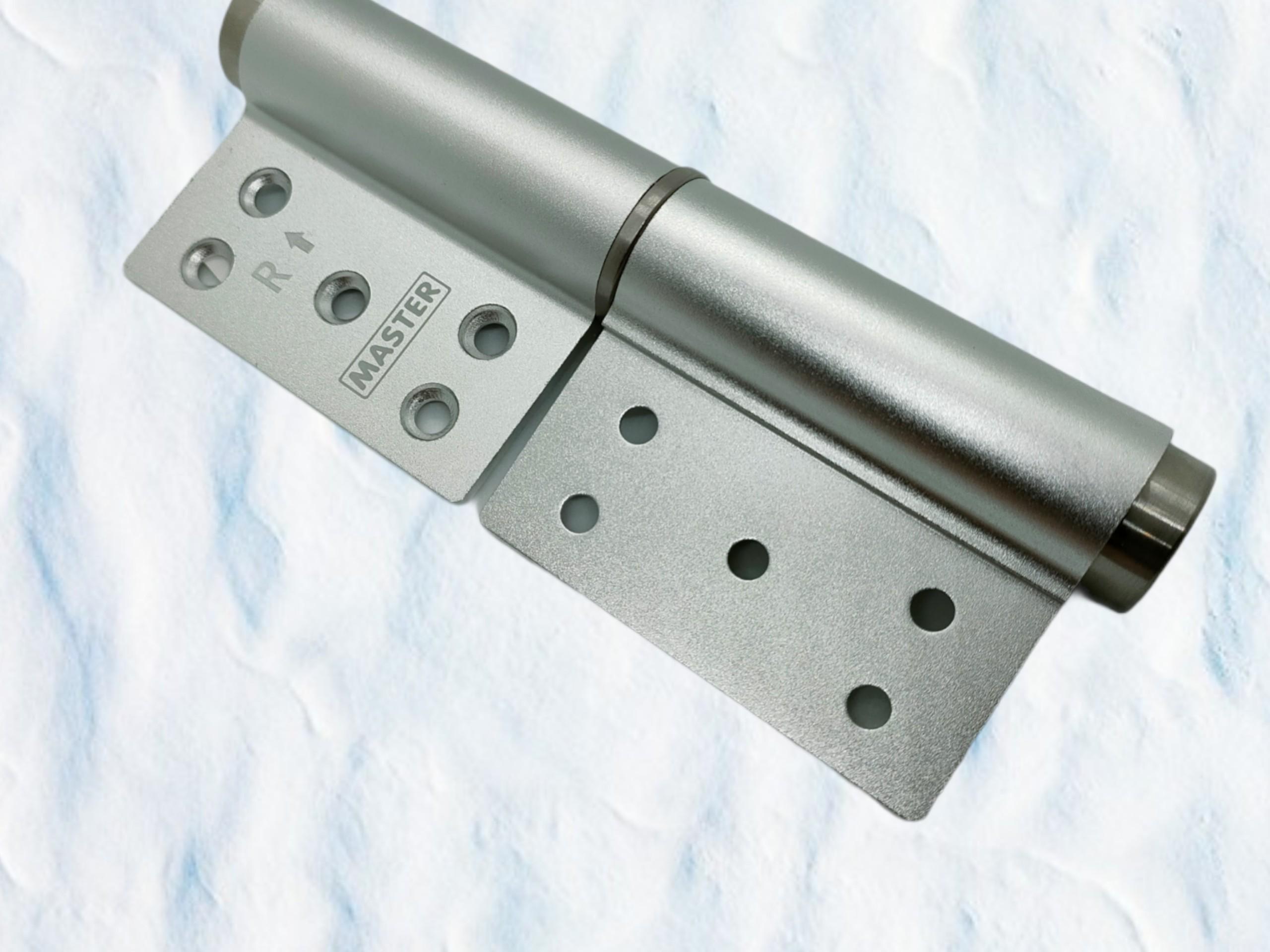 Bản lề tự động cho cửa - Sắt - Inox (mẫu L)