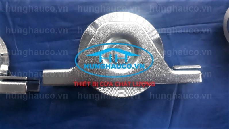 bánh xe ray V gắn âm - bắn vít