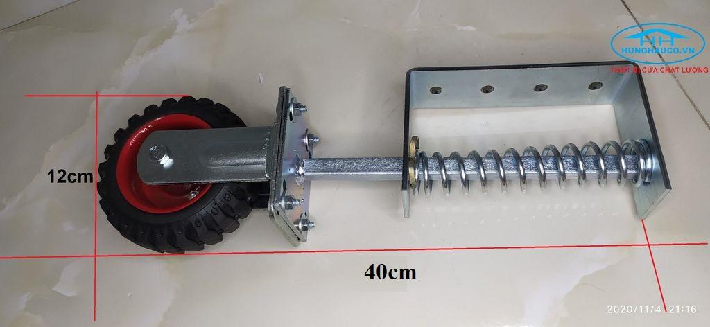 bánh xe hỗ trợ cửa - bánh xe lò xo đỡ đầu cửa