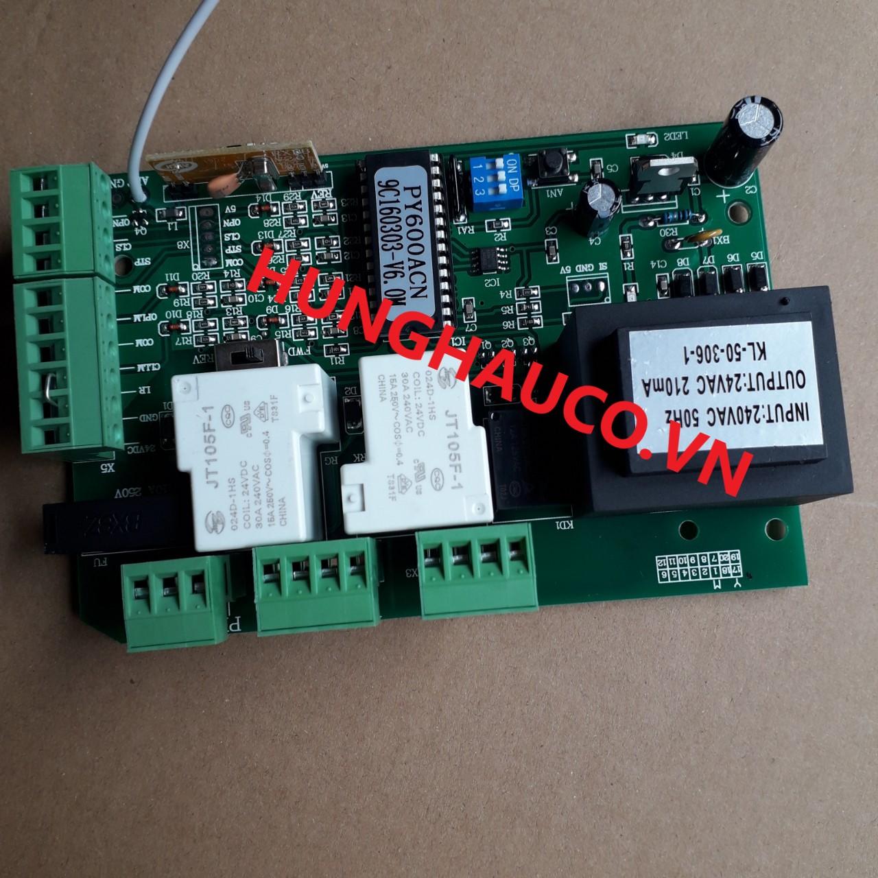 bo mạch cổng lùa AC220V MASTER 1HP ( không remote)