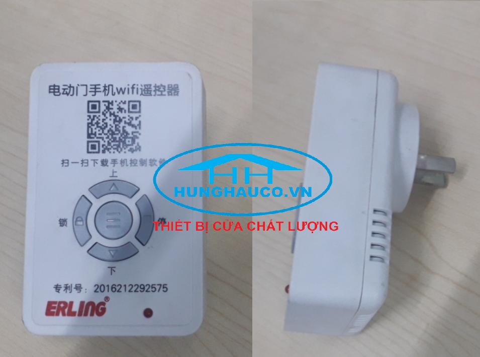 bộ điều khiển cửa cuốn bằng điện thoại ERLING-433mhz  (dùng mạng 3g, 4g, wifi )