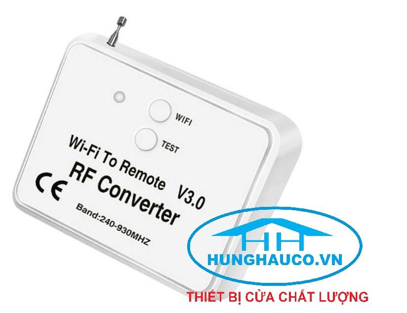 bộ Remote đa năng điều khiển bằng điện thoại V3.0 (dùng mạng 3g, 4g, wifi )