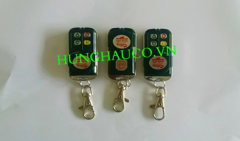 Remote cửa cuốn CH Xanh (F6) - đài loan