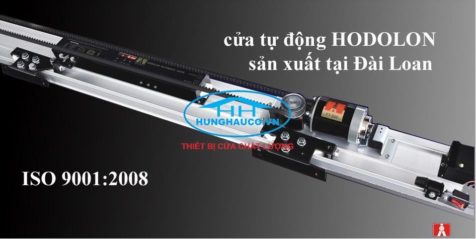 Bộ cửa lùa tự động HODOLON - Đài Loan ( ray 4m2)