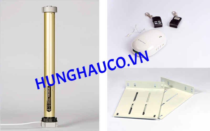 motor cửa cuốn ENGINESS 120N + 2 remote
