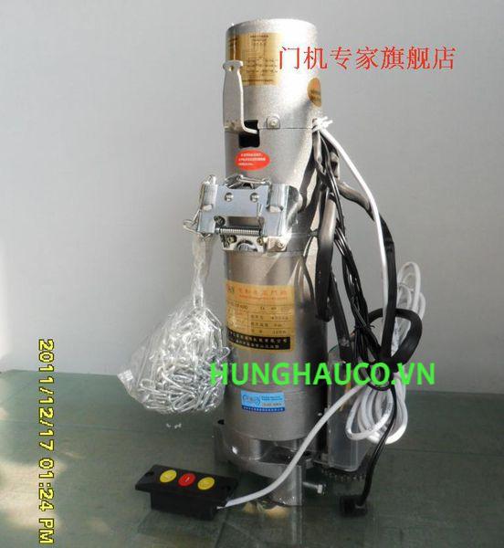 motor cửa cuốn Hualin 300kg + 2 remote
