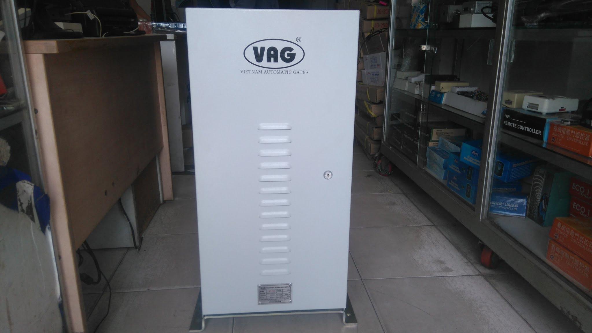 motor cổng lùa công nghiệp 1 pha VAG-  tải trọng 2500kg